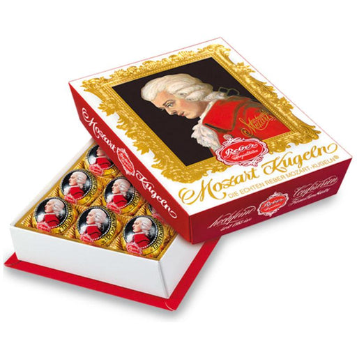 Reber Mozart Kugeln Portrait Gift Box, 8.5 oz (12 Pc)