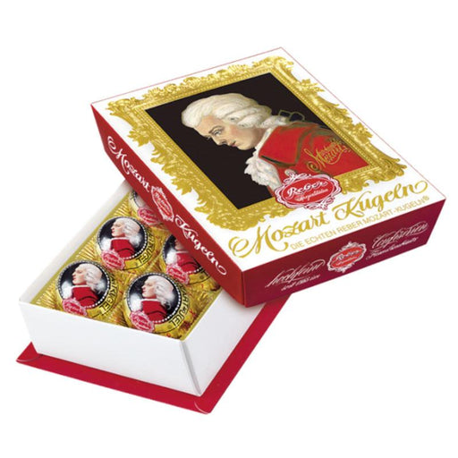 Reber Mozart Kugeln Portrait Gift Box, 4.2 oz (6 Pc)