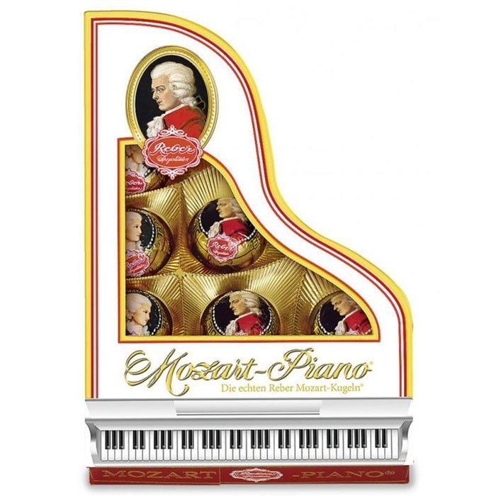 Reber Mozart Kugeln in Piano Gift Box, 7.8 oz