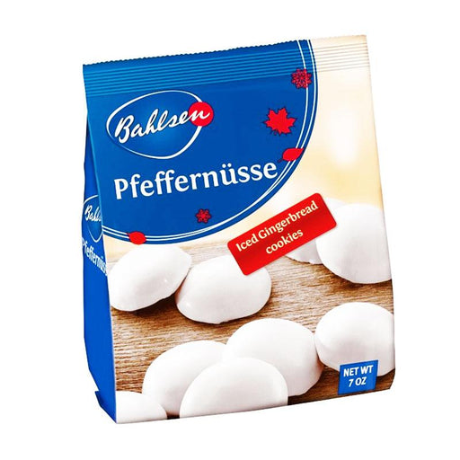 Bahlsen Pfeffernüsse Iced Gingerbread Cookies, 7 oz