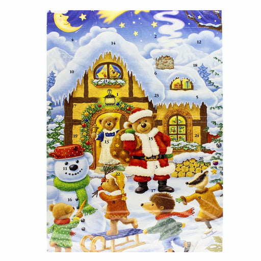 German Chocolate Advent Calendar by WAWI Muller & Muller, 1.76 oz (50 g)