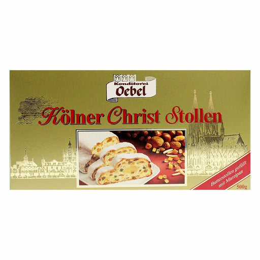 Traditional German Christmas Stollen by Oebel 17.6 oz