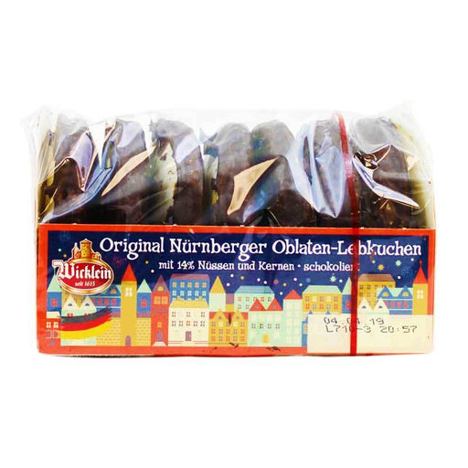 Wicklein Chocolate-Covered Wafer Lebkuchen, 7 oz