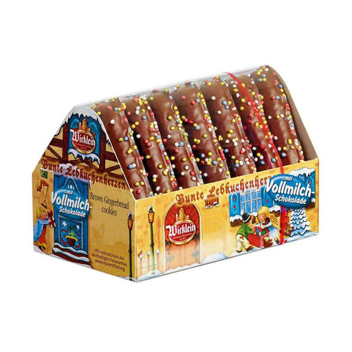 Wicklein Chocolate Lebkuchen with Sprinkles, 7 oz