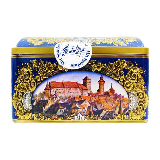 Wicklein Lebkuchen Gingerbread in Music Box, 10.5 oz