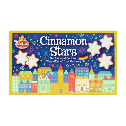 Wicklein Cinnamon Nut Star Cookies, 5.3 oz