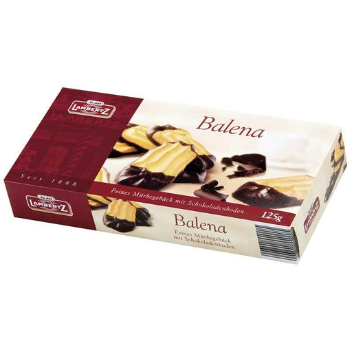 Lambertz Balena Chocolate Cookies, 4.4 oz