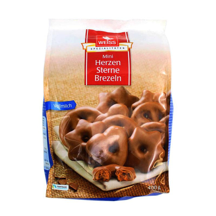 Weiss Mini Chocolate Gingerbread Cookies, 14 oz