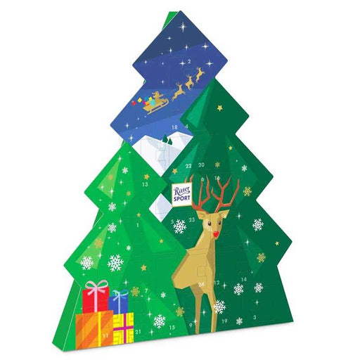 Ritter Sport Christmas Tree Advent Calendar, 7.33 oz (208 g)