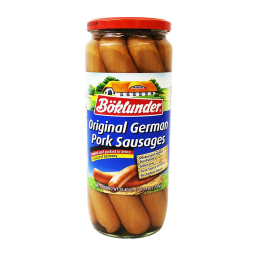 Boklunder Original German Pork Sausages, 25.4 oz (720 g)