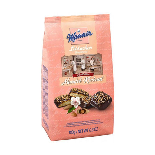 Manner Gingerbread with Almond Pieces, 6.3 oz. (180g)