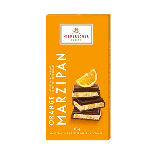 Niederegger Marzipan with Orange, 3.8 oz. (110g)
