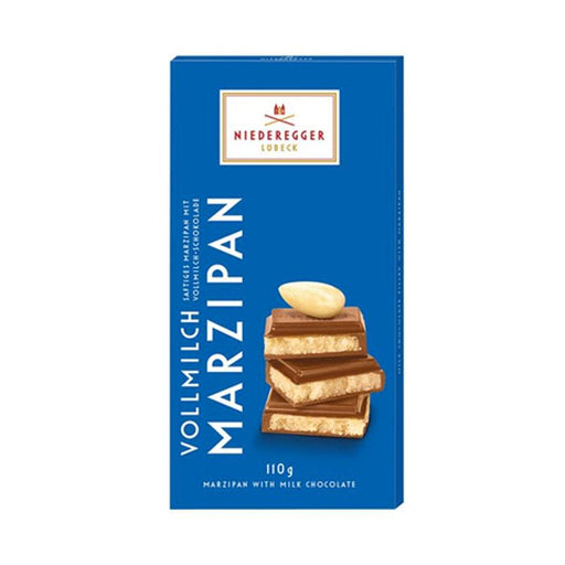 Niederegger Marzipan with Milk Chocolate, 3.8 oz. (110g)