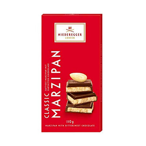 Niederegger Classic Marzipan with Dark Chocolate, 3.8 oz. (110g)