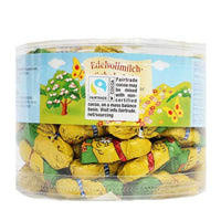 Milk Chocolate Chicks from the Finest German Chocolate for Easter, 100 Pieces x 0.22 oz