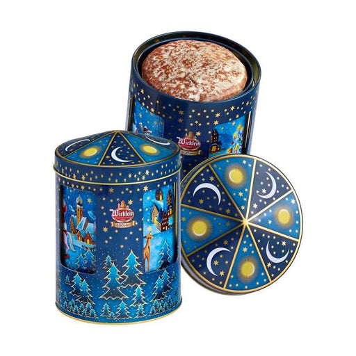 "Wicklein German Gingerbgread in ""Let It Snow"" Music Tin, 7.05 oz (200 g)"