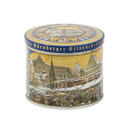 Wicklein German Gingerbread  with 25% Nuts in Elisenburg Castle Tin, 7.05 oz (200 g)