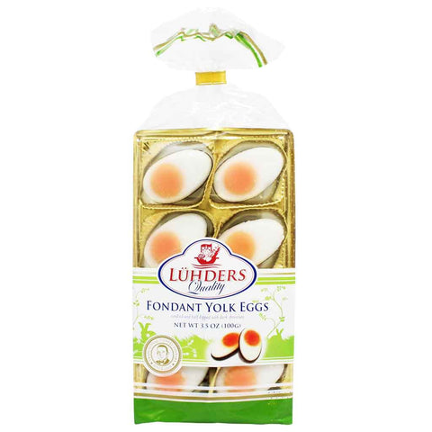 Fondant Yolk Eggs by Luhders 3.5 oz