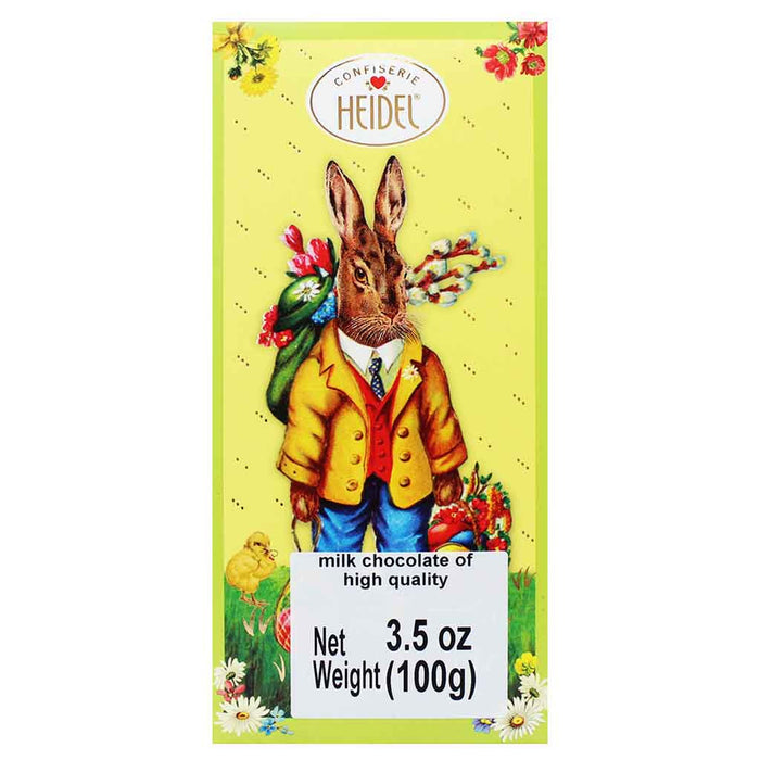 Authentic German Easter Milk Chocolate by Confiserie Heidel 3.5 oz