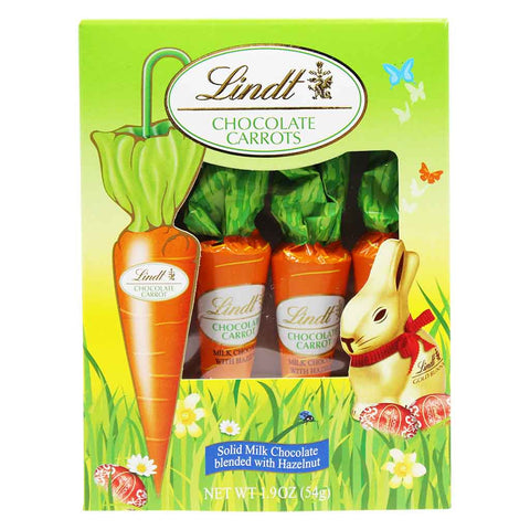 Chocolate Carrots by Lindt 1.9 oz