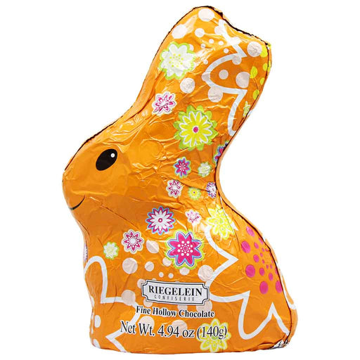 Riegelein Fine Hollow Chocolate Bunny, 4.9 oz (140 g)