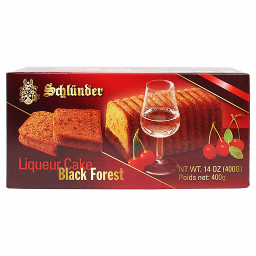 Schlunder Black Forest Cherry Liqueur Cake, 14 oz (400 g)