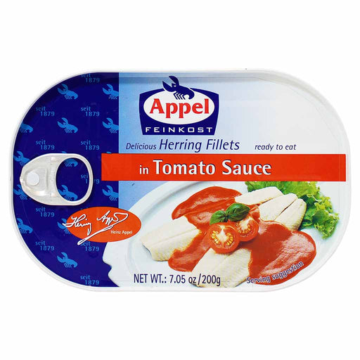 Appel Herring Fillets in Tomato Sauce, 7 oz (200 g)