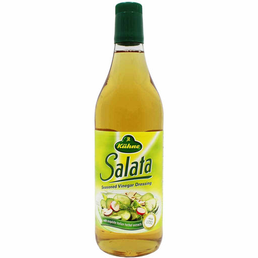 Kuhne Salata Seasoned Vinegar Dressing, 25.3 fl oz (750 ml)