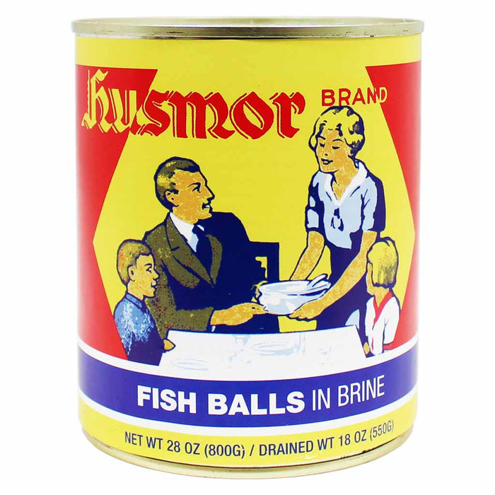 Husmor Fish balls in Brine 28 oz. (800g)