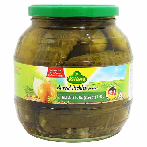 Kuhne Barrel Pickles 35.9 fl. oz. (1.06L)