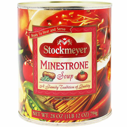 Stockmeyer Minestrone Soup, 28 oz (794 g)