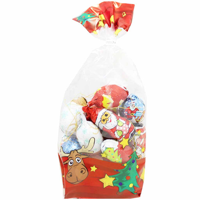 Wawi Large Chocolate Assorted Christmas Ornaments, 7 oz (200 g)