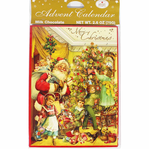 Confiserie Heidel Nostalgic Chocolate Advent Calendar, 2.6 oz (75 g)