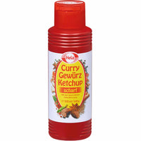 Hela Curry Ketchup, Spicy 10 oz (300 ml)