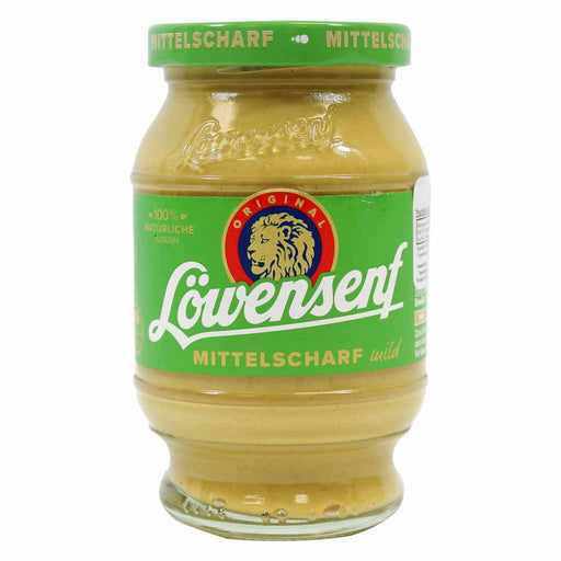 Lowensenf Mild Mustard, 8.7 fl oz (250 ml)