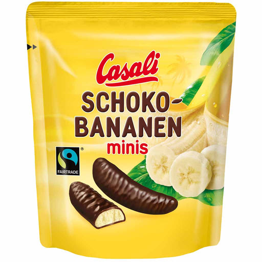 Casali - Mini Choco-Bananas 3.8 oz, (110g)