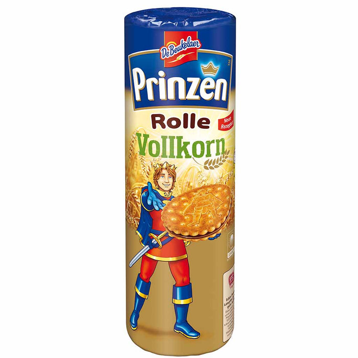 DeBeukelaer Prinzen Rolle Whole Grain Chocolate Sandwich Cookies 12.4 oz. (352g)