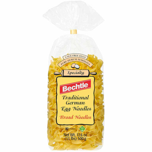 Bechtle - Broad Traditional Spaetzle, Egg Noodles, 17.6 oz. (500g)
