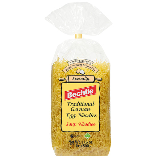 Bechtle Thin Traditional German Soup Noodles, 17.6 oz (500 g)