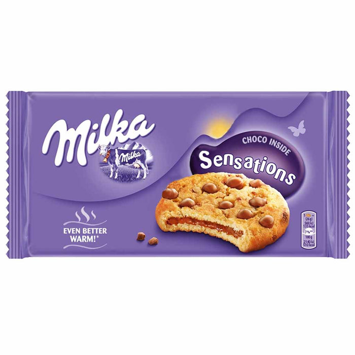 Milka Sensations Chocolate Chip Cookies, 5.5 oz (156 g)