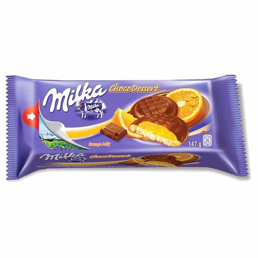 Milka Choco Dessert Orange Jelly Cookies, 5.2 oz (147 g)