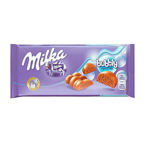 Milka Bubbly Alpine Milk Chocolate, 3.1 oz (90 g)