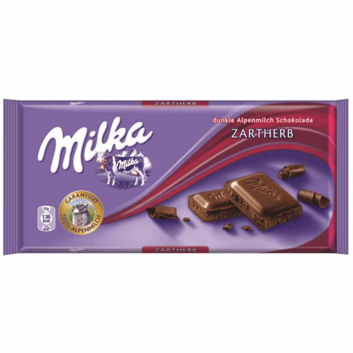 Milka Dark Chocolate, 3.5 oz (100 g)