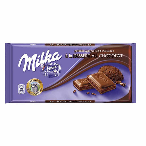 Milka Mousse Dessert Chocolate, 3.5 oz (100 g)