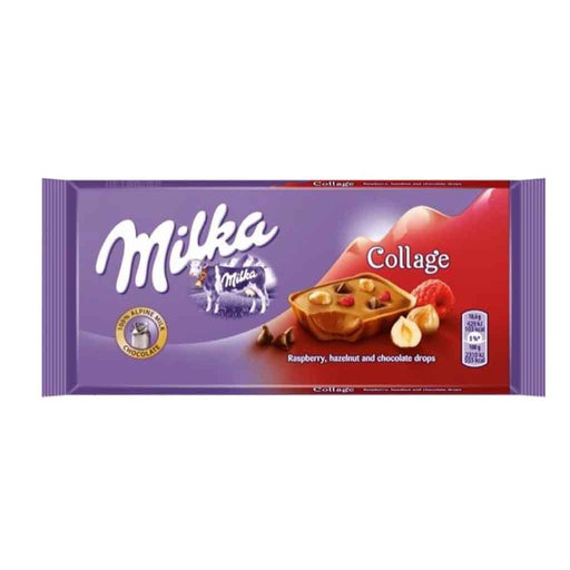 Milka Fruit Collage Chocolate, 3.2 oz (93 g)
