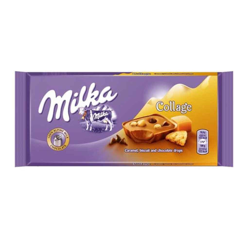 Milka Fudge Collage Chocolate, 3.2 oz (93 g)