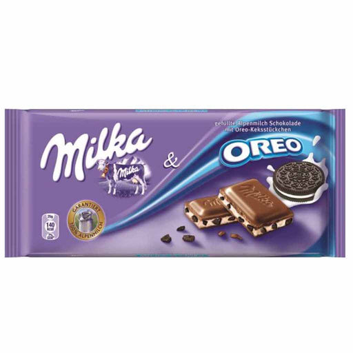 Milka Oreo Chocolate, 3.5 oz (100 g)