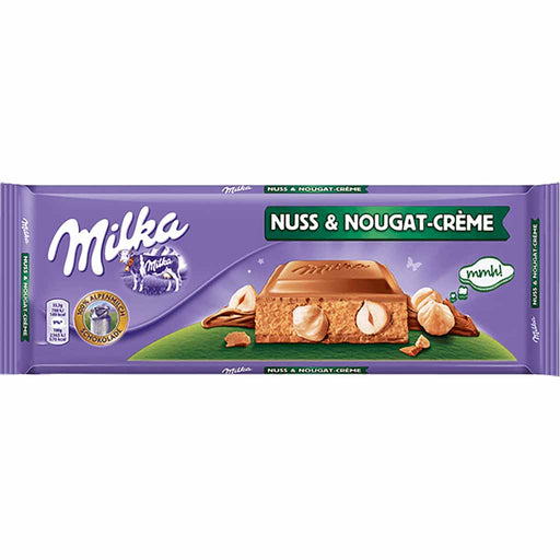 Milka XXL Hazelnut and Nougat Cream Chocolate, 10.5 oz (300 g)