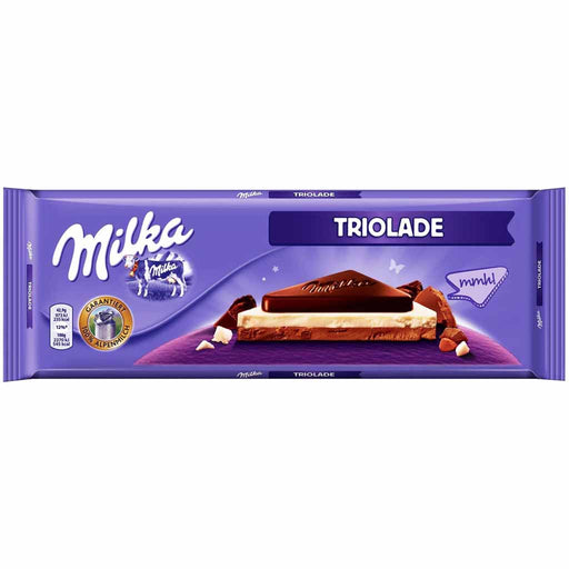 Milka XXL Triolade Chocolate, 9.8 oz. (280 g)