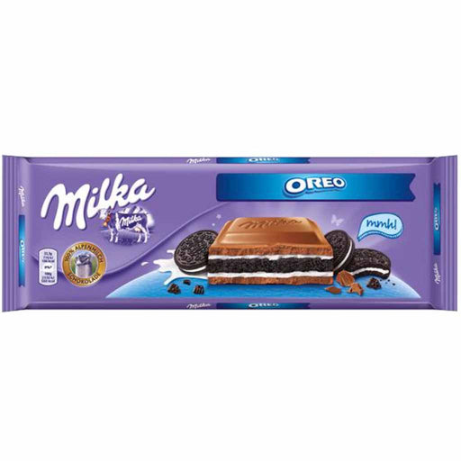 Milka Oreo Big Chocolate Bar Candy Bar, 10.5 oz